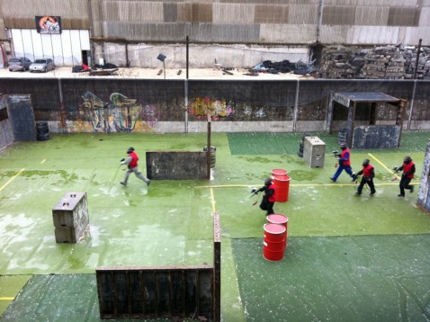 Outdoor Paintball in Basel