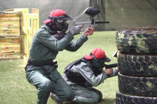 Paintball bei Basel