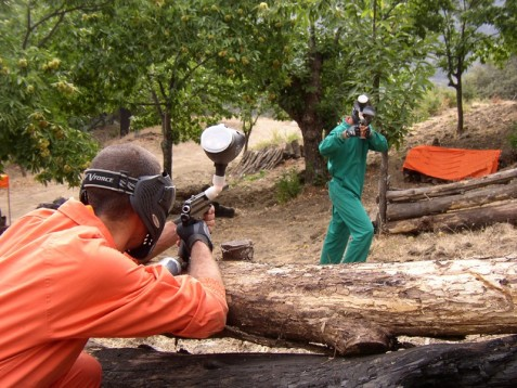 Paintball bei Bern