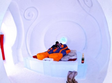 dormir dans un igloo suisse pour une nuit m morable. Black Bedroom Furniture Sets. Home Design Ideas